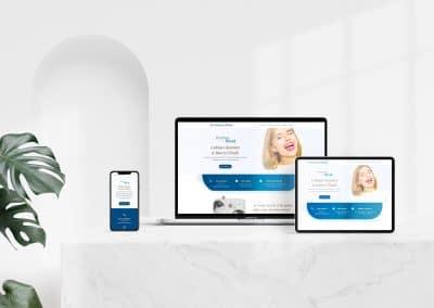 Site web onepage – Cabinet Dentaire de Marcy-l'Étoile