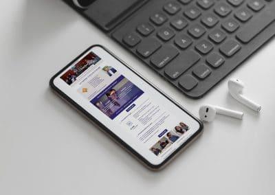 Campagne de mailing, newsletter – Formations Espagno