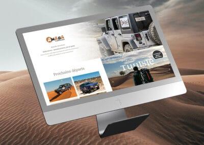 Site e-commerce Amada Aventure