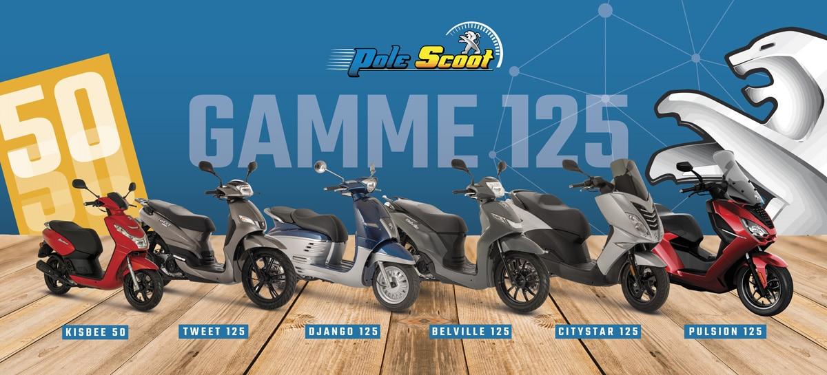 209-95-Peugeot Création de supports en vinyle micro-perforé Pôle Scoot