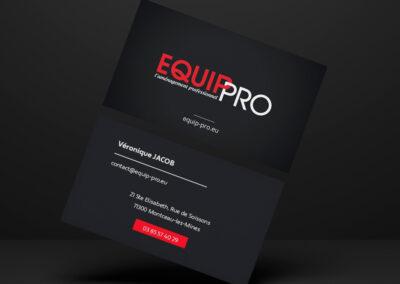 Cartes de visite Equip' Pro