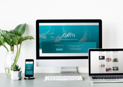 Site e-commerce Oxyn Sport