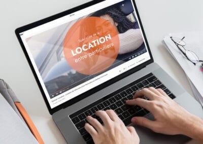 Rédaction web et outils pour Djoman Location