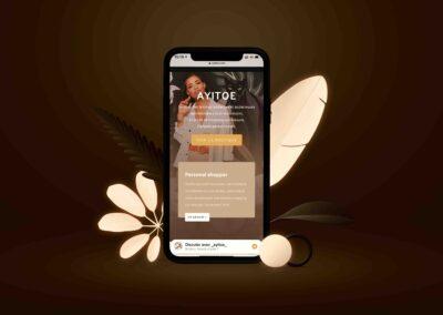Site e-commerce Ayitoe