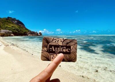 Supports Ayitoe (dépliants, carterie, flyers en kraft)